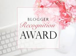 Blogger recognition award for Own Your Best