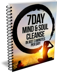 7 Day mind and soul cleanse for mindfulness